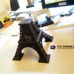 Eiffelturm: Teil 1 fertig